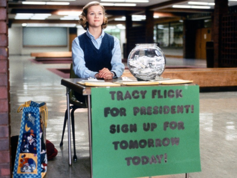 Reese Witherspoon in Election.