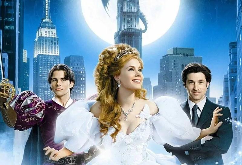 James Marsden, Amy Adams, and Patrick Dempsey in Enchanted.
