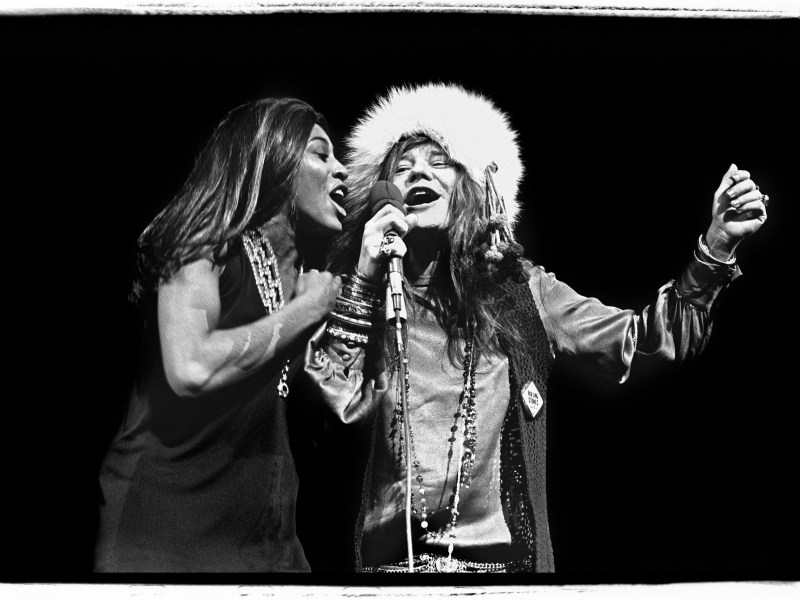 Janis and Tina at Madison Square Garden, November 27, 1969 in The Show's The Thing.