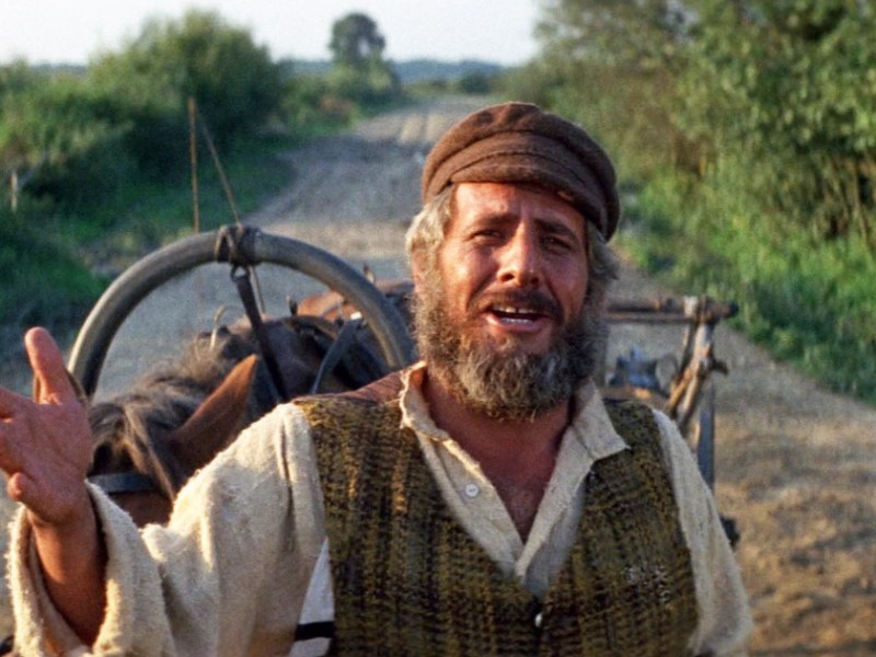 Topol in Fiddler on the Roof.