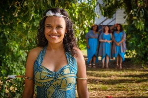 Miranda Tapsell appears in Top End Wedding by Wayne Blair, an official selection of the Premieres program at the 2019 Sundance Film Festival.