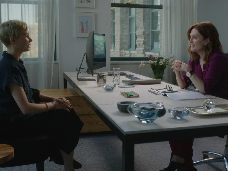 Michelle Williams and Julianne Moore appear in After the Wedding by by Bart Freundlich, an official selection of the Premieres program at the 2019 Sundance Film Festival.