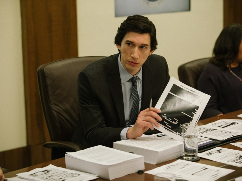 Adam Driver appears in The Report by Scott Z. Burns, an official selection of the Premieres program at the 2019 Sundance Film Festival.