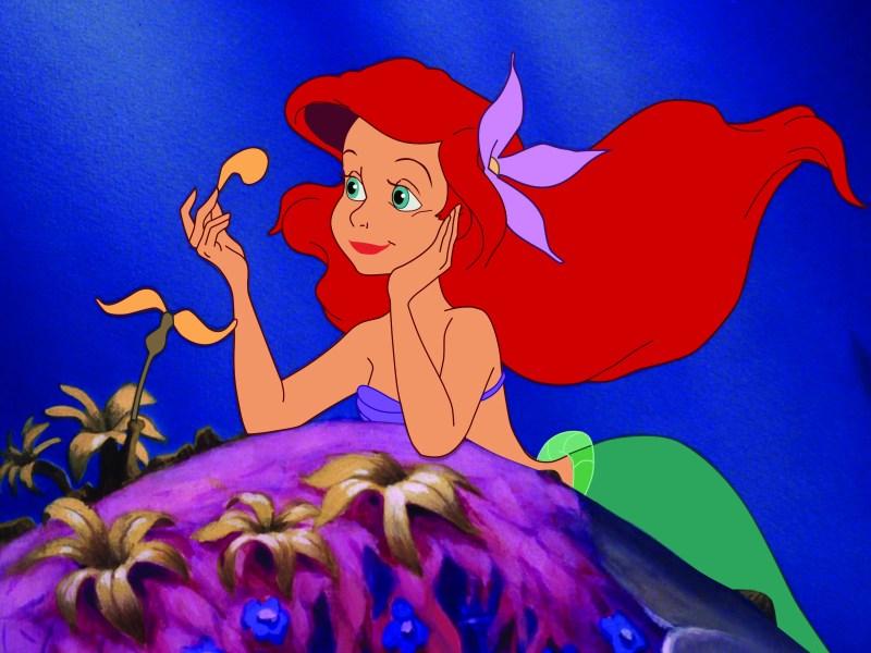 Ariel (Jodi Benson) in Disney's The Little Mermaid.