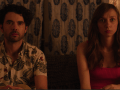 (L-R) Nick Rutherford and Lauren Lapkus in a scene from The Orchard's The Unicorn.