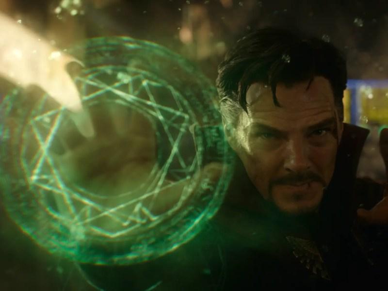 Dr. Stephen Strange (Benedict Cumberbatch) in Marvel's Doctor Strange.