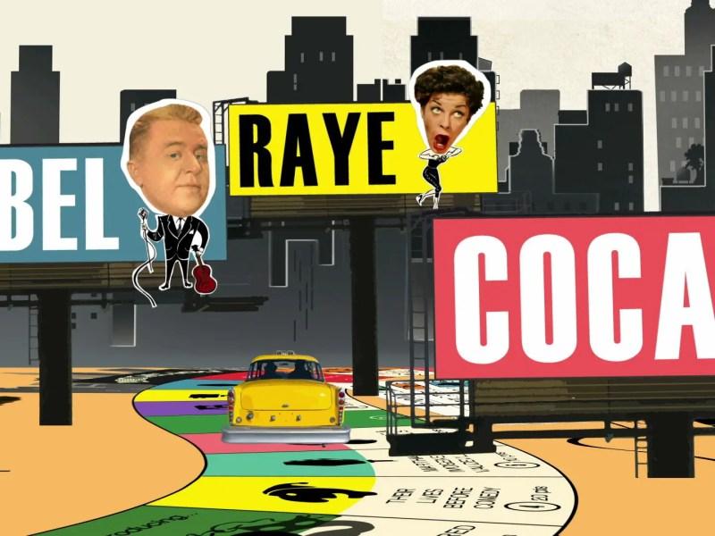 George Gobel, Martha Raye, Imogene Coca in Funny You Never Knew.