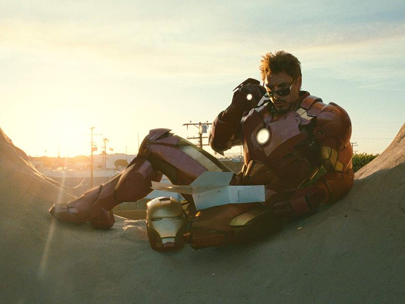 Robert Downey Jr. in Iron Man 2.