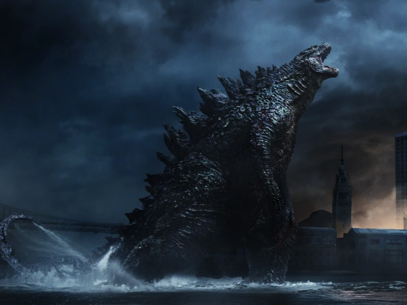 "Godzilla in Warner Bros. Pictures' and Legendary Pictures' epic action adventure ""GODZILLA,"" a Warner Bros. Pictures release."
