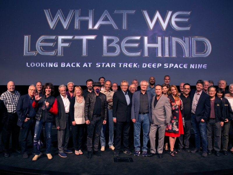 What We Left Behind: Looking Back at Star Trek: Deep Space Nine cast premiere.
