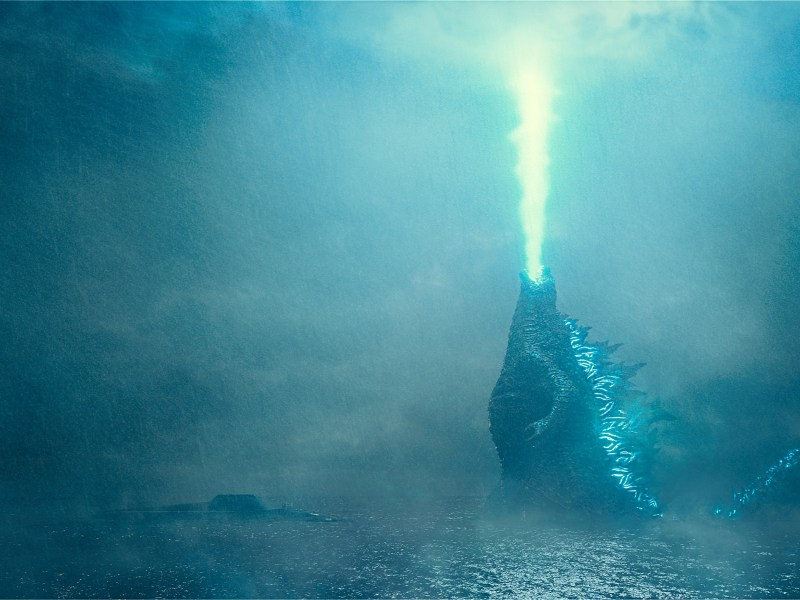 "GODZILLA in Warner Bros. Pictures' and Legendary Pictures' action adventure ""GODZILLA: KING OF THE MONSTERS,"" a Warner Bros. Pictures release."