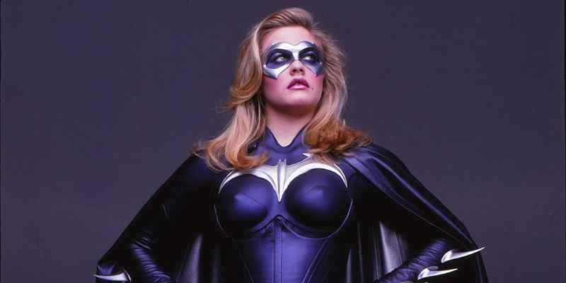 Alicia Silverstone as Batgirl in Batman and Robin.