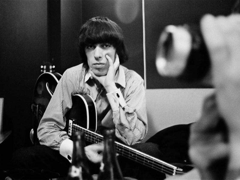 Bill Wyman in the Studio in The Quiet One.