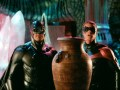 George Clooney and Chris O'Donnell in Batman and Robin.