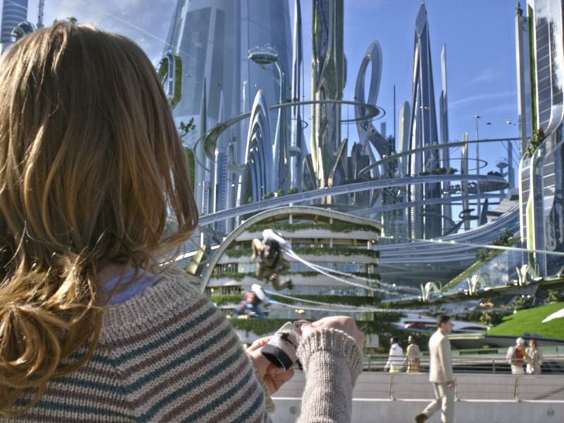 Casey (Britt Robertson) in Disney's Tomorrowland.
