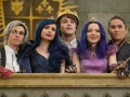 Cameron Boyce, Sofia Carson, Mitchell Hope, Dove Cameron, and Booboo Stewart in Disney Channel's Descendants 3.