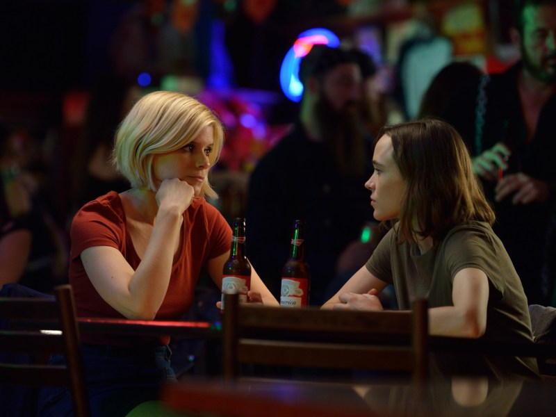 Kate Mara and Ellen Page in My Days of Mercy