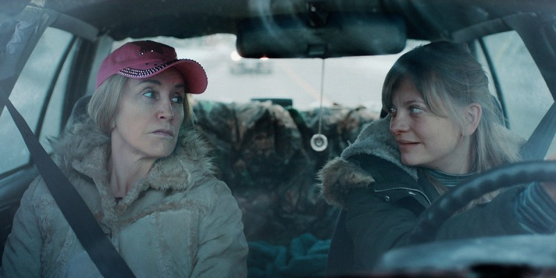 Felicity Huffman and Anastasia Phillips in Amy Jo Johnson's Tammy's Always Dying.