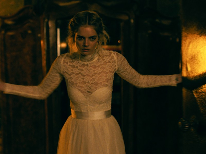 Samara Weaving in the film Ready Or Not