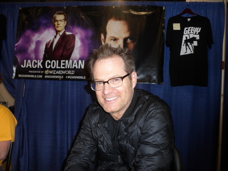 Heroes star Jack Coleman attends Wizard World Chicago 2019