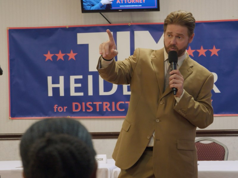 Tim Heidecker in Mister America, a Magnolia Pictures release.