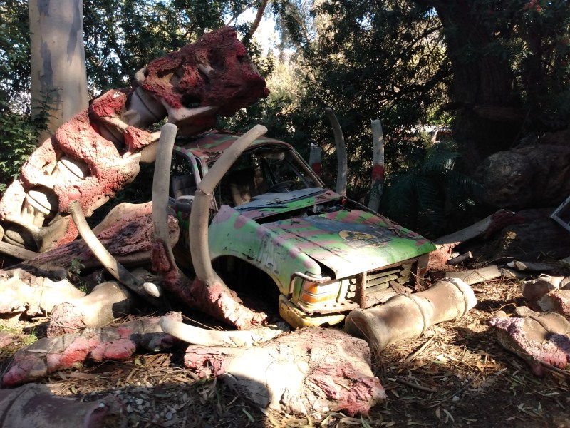 A car from Jurassic Park.