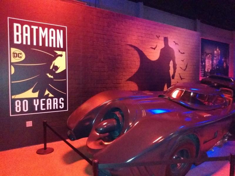 A Batmobile.