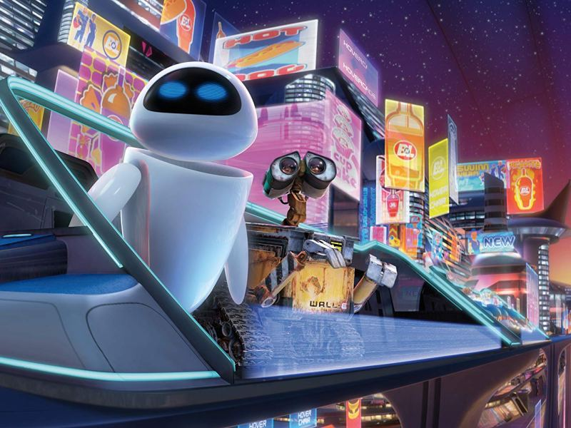 EVE and WALL-E in WALL-E.