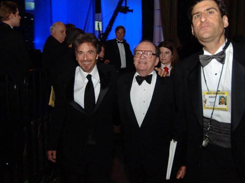 Al Pacino and Sidney Lumet