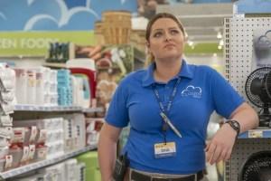 Lauren Ash as Dina in Superstore.