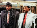 Arsenio Hall and Eddie Murphy in Coming to America.