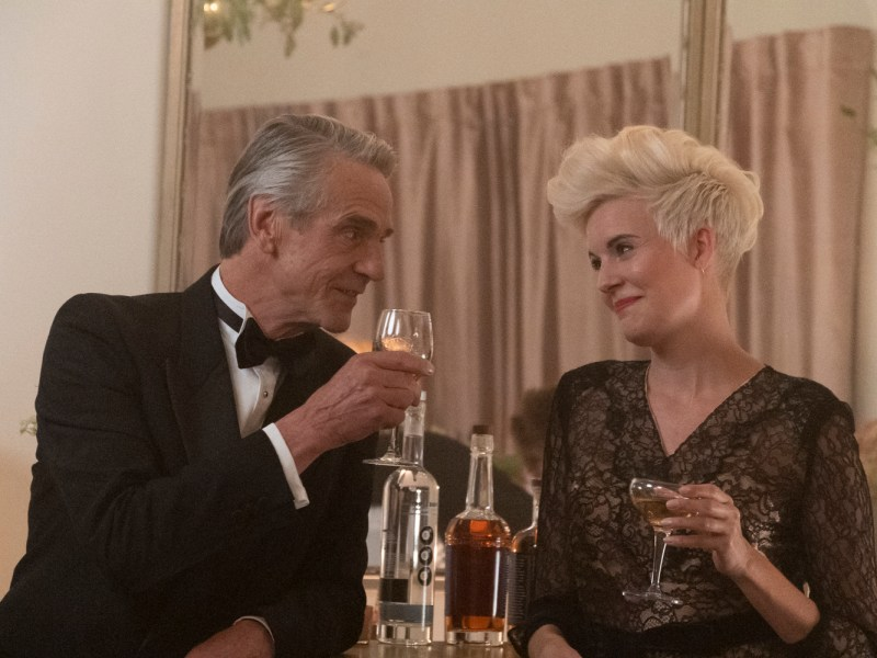 Jeremy Irons and Maggie Grace in Love, Weddings, and Other Disasters