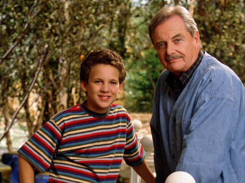Ben Savage and William Daniels in Boy Meets World