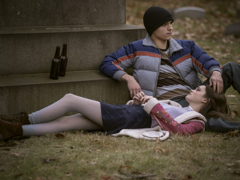 Tom Holland and Ciara Bravo in Cherry
