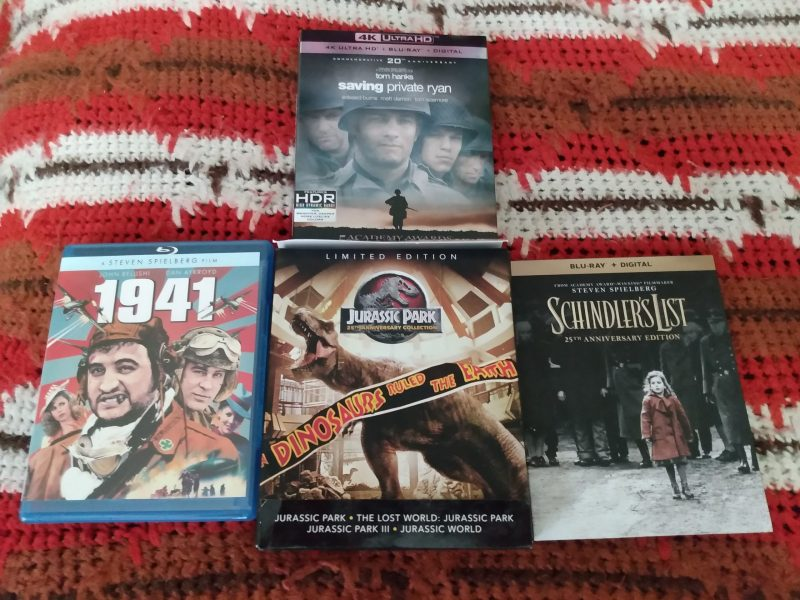 physical media, Steven Spielberg