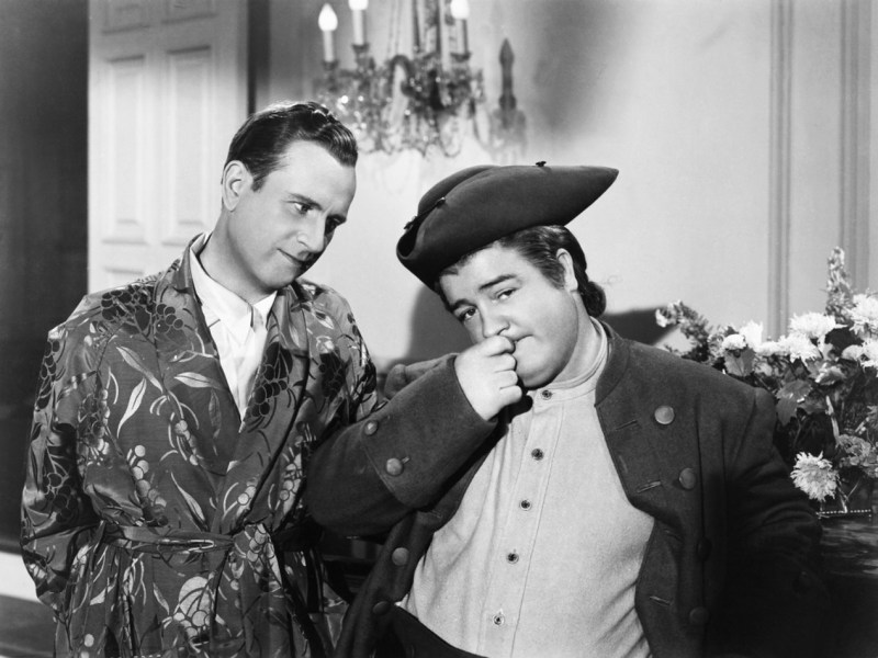 Bud Abbott and Lou Costello in The Time of Their Lives.