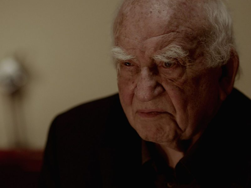 Ed Asner in Tiger Within.