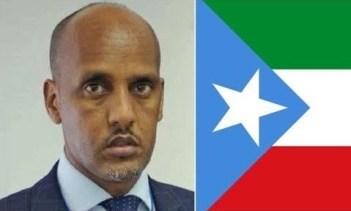President of Somali region of Ethiopia, Mustafe Agjar, kick