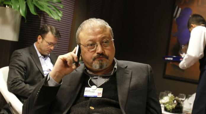Turkish police are believed to have a voice recording of Khashoggi's murder [Virginia Mayo/AP]