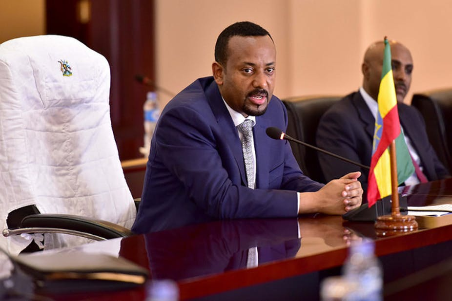 Ethiopian Prime Minister, Abiy Ahmed, has created a peace ministry to stabilise the East African nation. Yoweri Museveni/Flickr