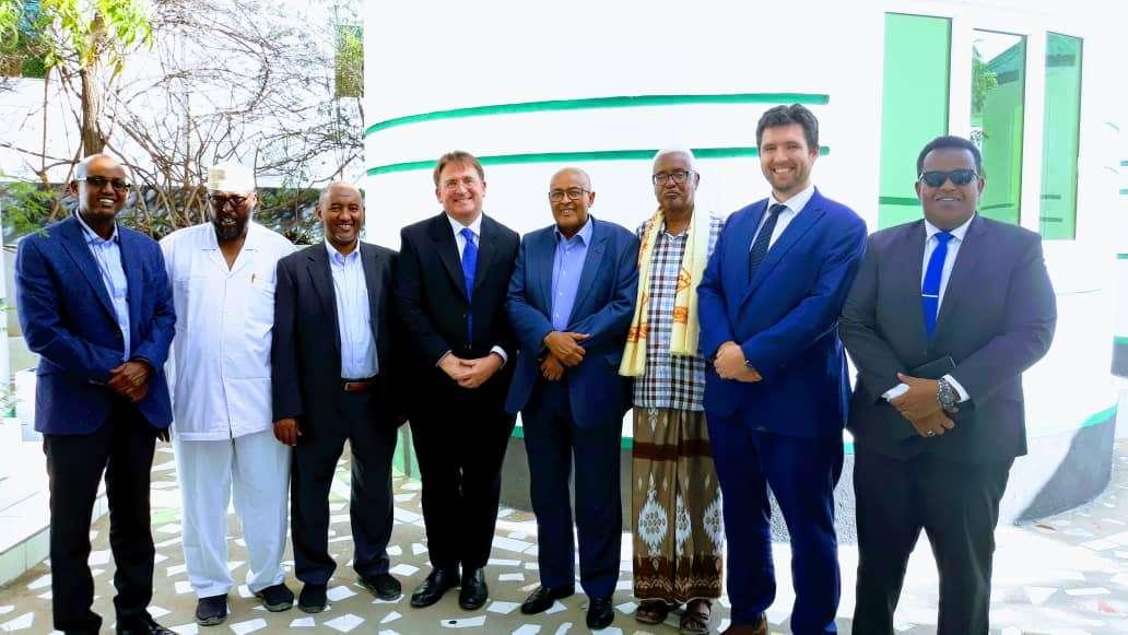 Top WADDANI officials meet with Ambassador Ben Fender