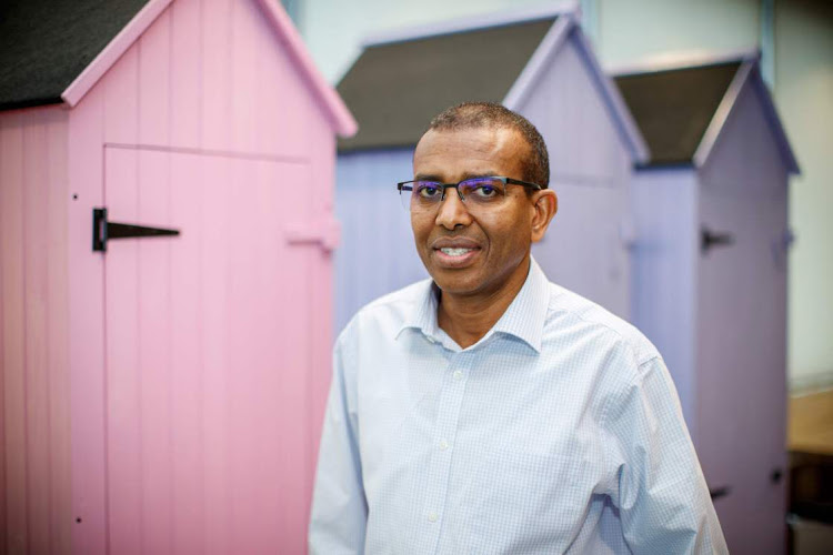 Ismail Ahmed, founder and CEO of WorldRemit, at the company's offices in London. Picture: AFP/TOLGA AKMEN