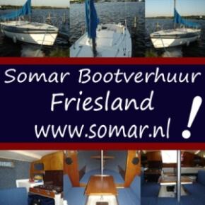 Zeiljachtverhuur Friesland Somar Bootverhuur