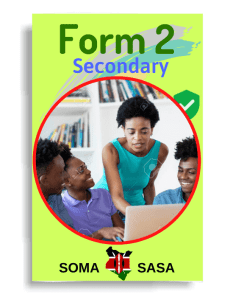 Somasasa Form 2 one in Kenya
