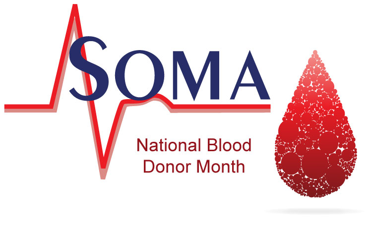 National Blood Donor Month - Soma Technology, Inc.