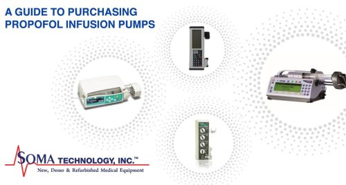 A Guide to Purchasing Propofol Infusion Pumps