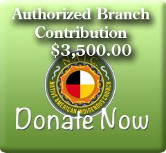 NAIC Branch Donation