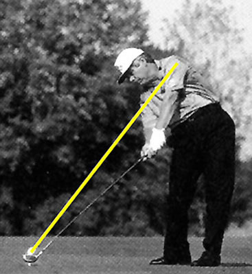 Best golf tip ever — left wrist to target … like in this