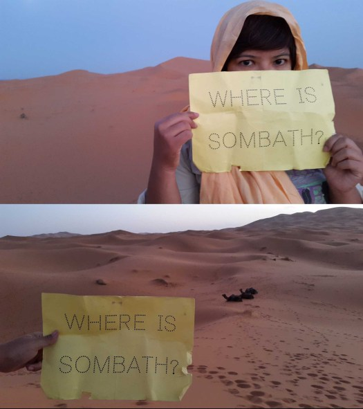 People in the Sahara Desert are asking...