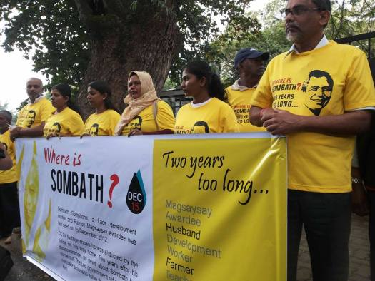 Families of the disappeared in Columbo are asking...